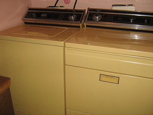harvest-gold-washer-and-dryer