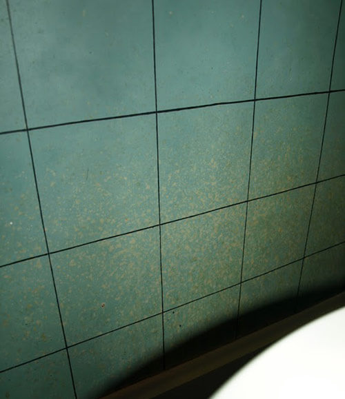 kristen and paulu0027s s style aqua and black tile bathroom built home decor