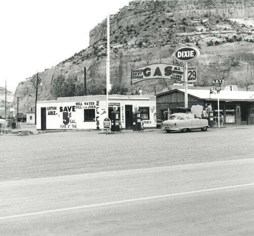 Gas station 1962