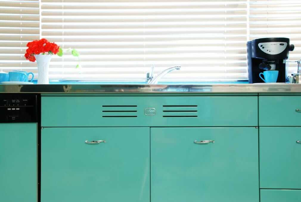 ... to buy a metal vent grille for a sink base cabinet - Retro Renovation