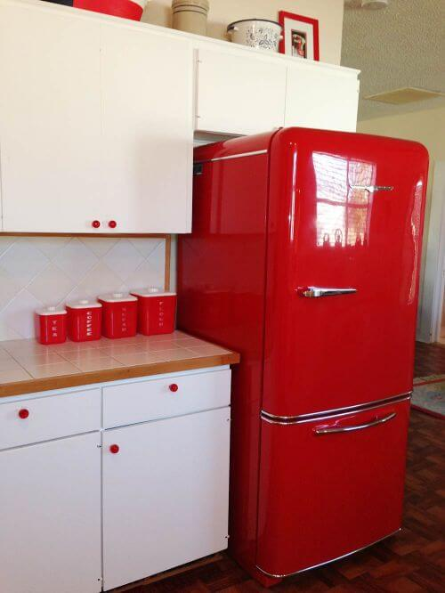 Elizabeth S Red And White Kitchen And Cath Kidston Cowboy