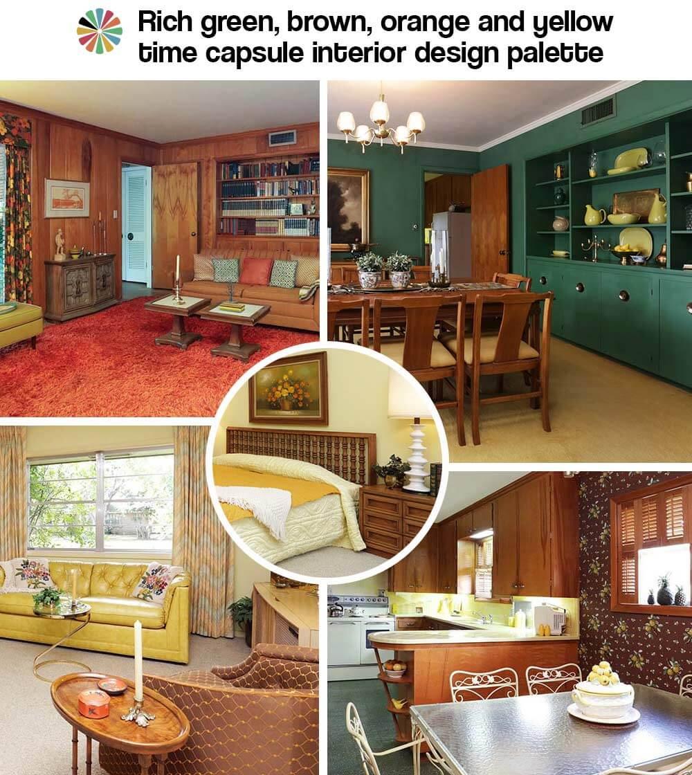 1954 texas time capsule house interior design perfection for Texas decorations for the home
