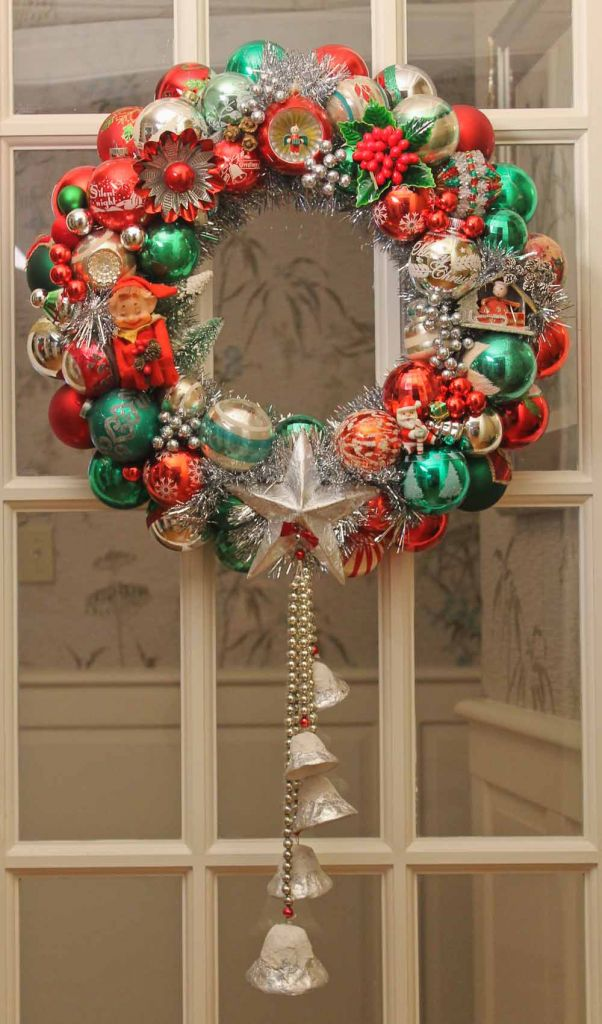 ornament wreath make