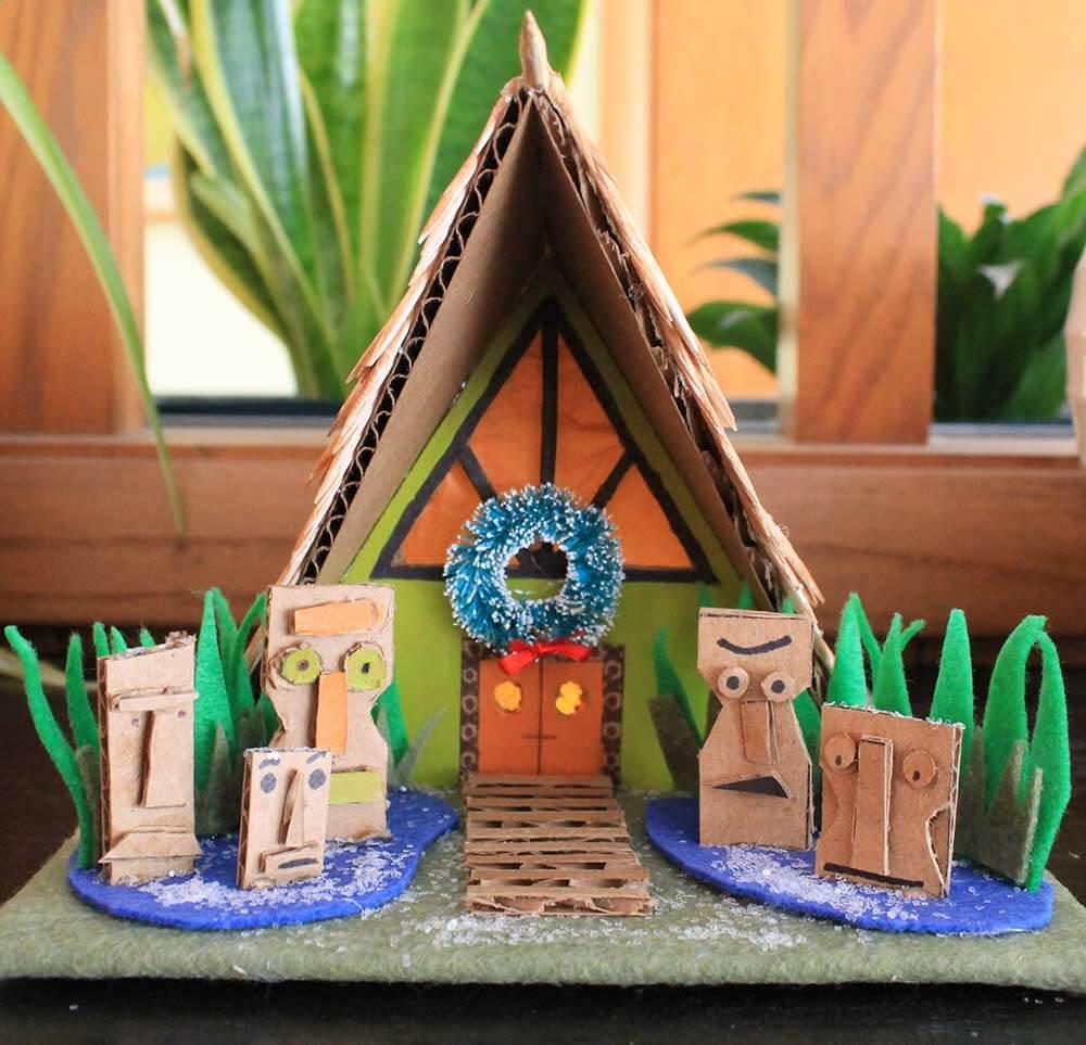 Diy Putz House 8 Kahiki Tiki House Download Our Free