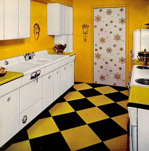 50 Small Kitchen Ideas And Designs: Six Kitchen Designs From 1953
