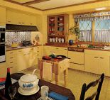1970s country kitchen