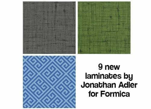 Jonathan Adler Formica Collection All 9 Designs