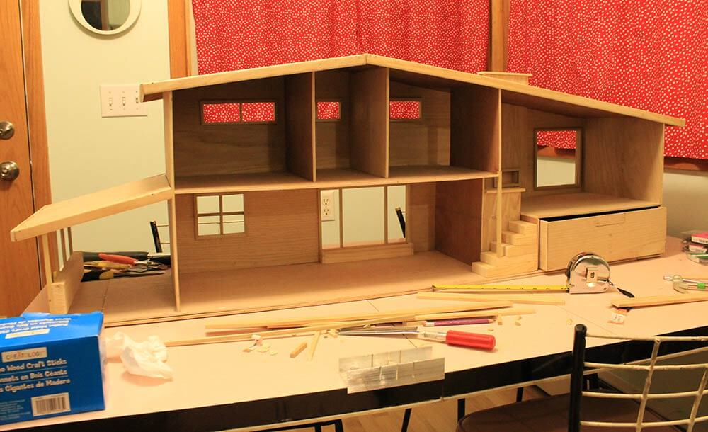 7 Steps And 70 Hours For Kate 39 S Diy Dollhouse From