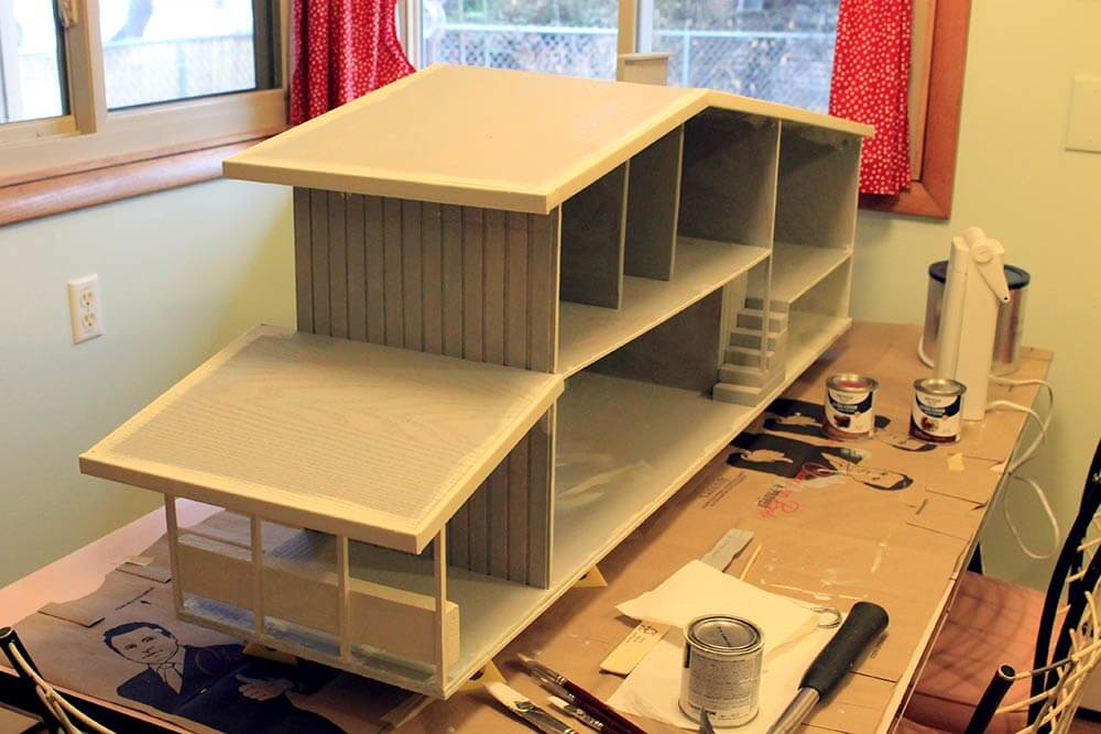 7 Steps And 70 Hours For Kate S Diy Dollhouse From