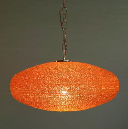 retro acrylic spaghetti light