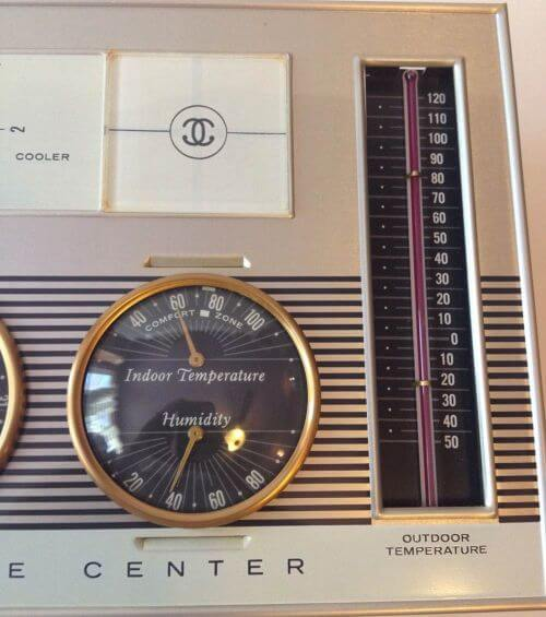 carrier climate center thermostat vintage
