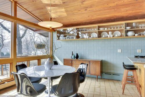 1955 midcentury modern kitchen