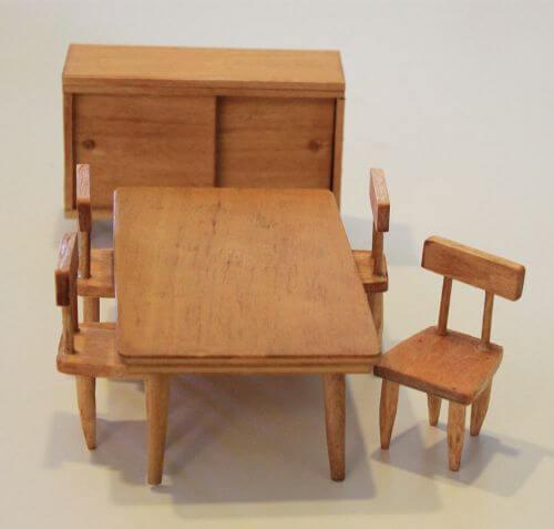 midcentury dollhouse furniture