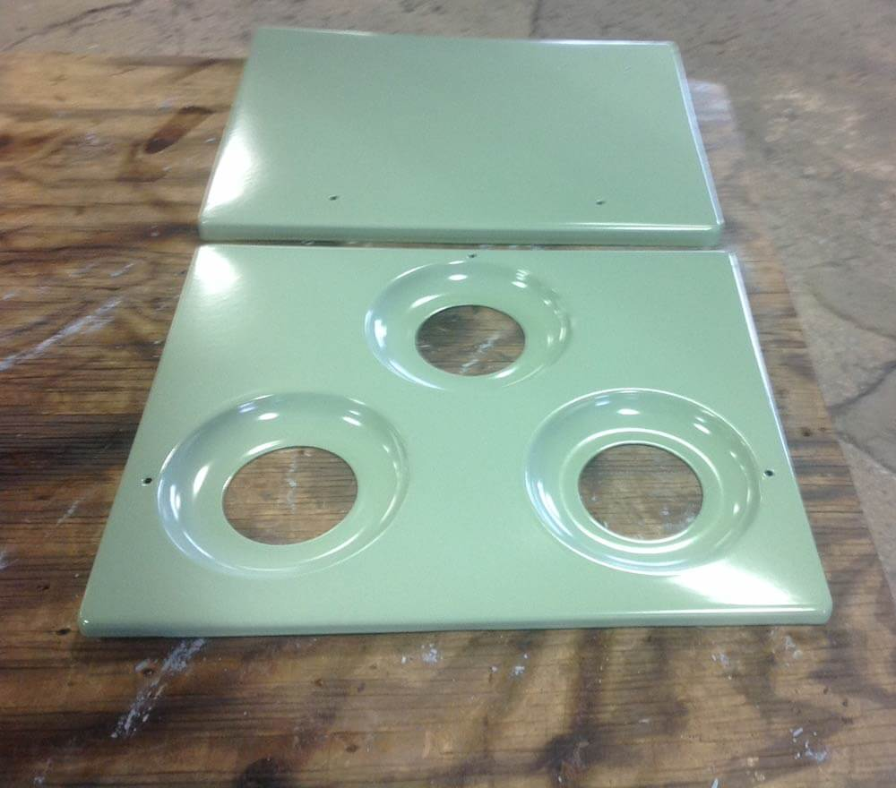 Reporcelain refinish steel sinks, stoves and other vintage parts ...