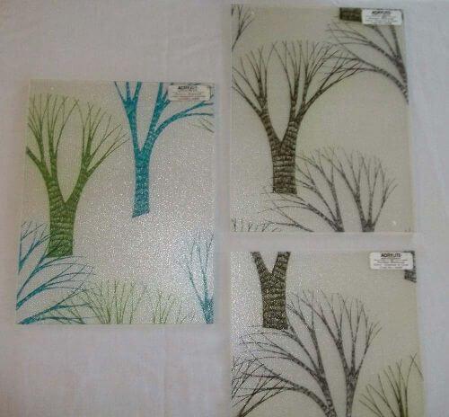 Acrylite retro decorative acrylic