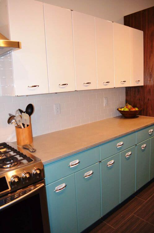 vintage steel kitchen cabinets