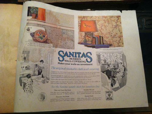 vintage wallpaper sample book