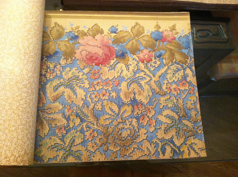 Vintage wallpaper books from 1928 - filled with stunning samples ...