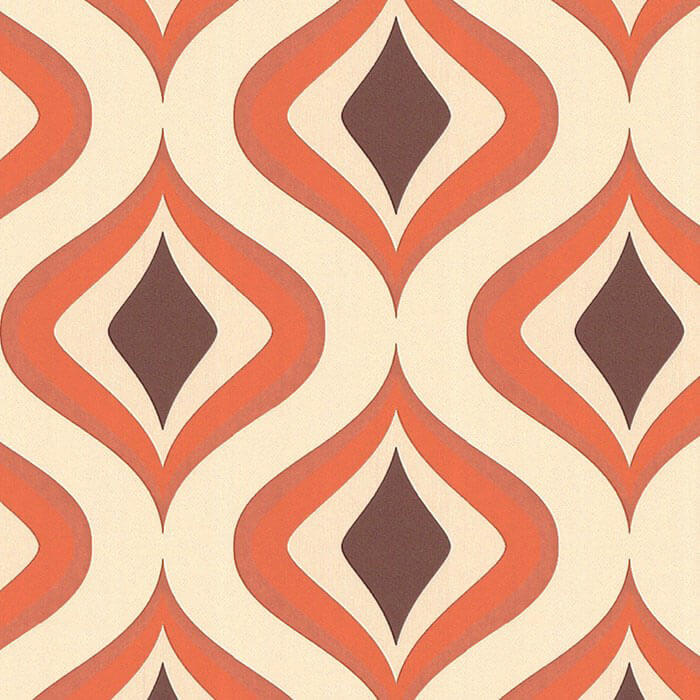 Mad men wallpaper by graham brown retro renovation - Papiers peints vintage ...