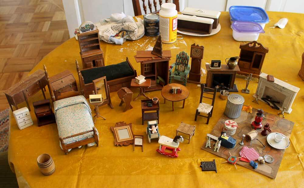Vintage Dollhouse Furniture For Sale Part - 36: Vintage Dollhouse Experts I Need Your Advice 3 Questions On Antique  Dollhouse For Sale On Craigslist