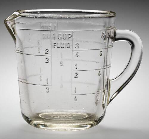 Vintage Measuring Cup 60