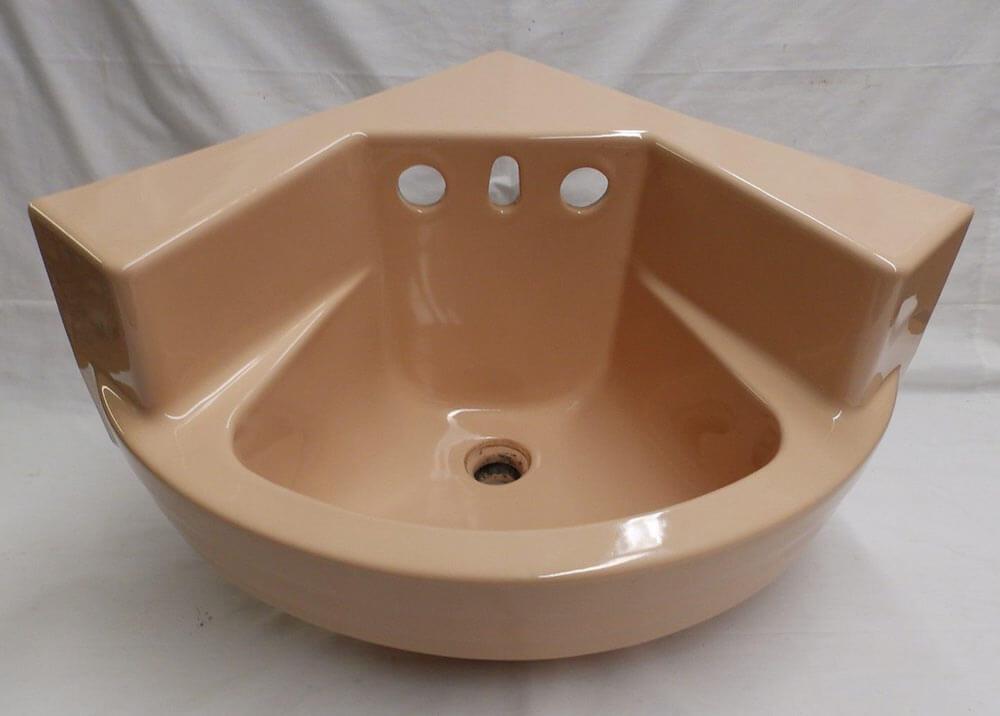 Vintage Corner Sink : vintage corner sink