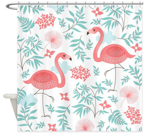 My 10 favorite flamingo shower curtains 24 more retro renovation