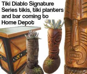 Tiki Decor At Home Depot Designed By Danny Gallardo Aka