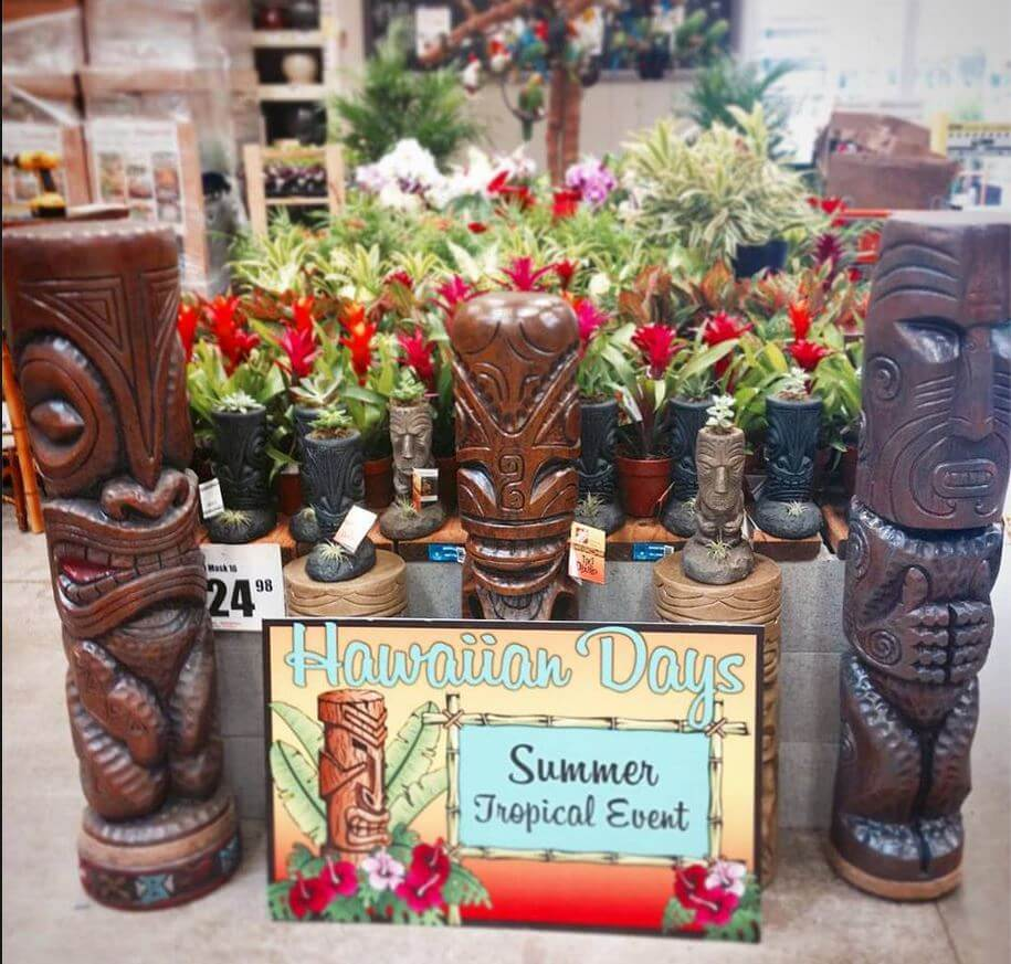 Tiki mania for Tiki Diablo at Home Depots - Retro Renovation