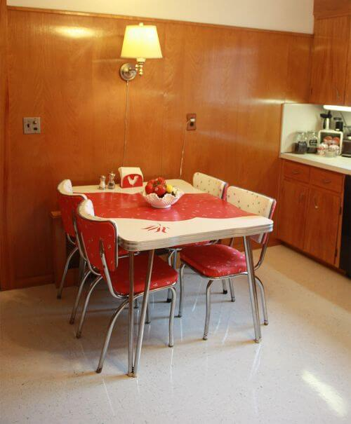 midcentury vintage kitchen