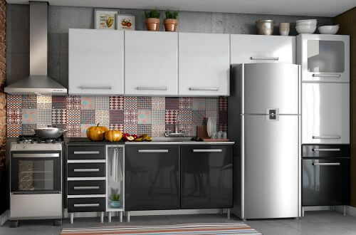 Metal Kitchen Cupboards