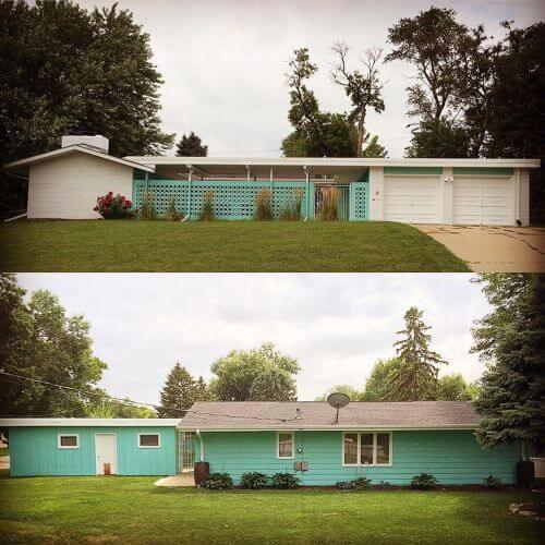 1961 electric house