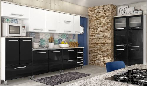modern steel kitchen cabinets