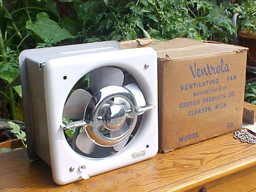 Beautiful Ventrola kitchen exhaust fan NOS woddity