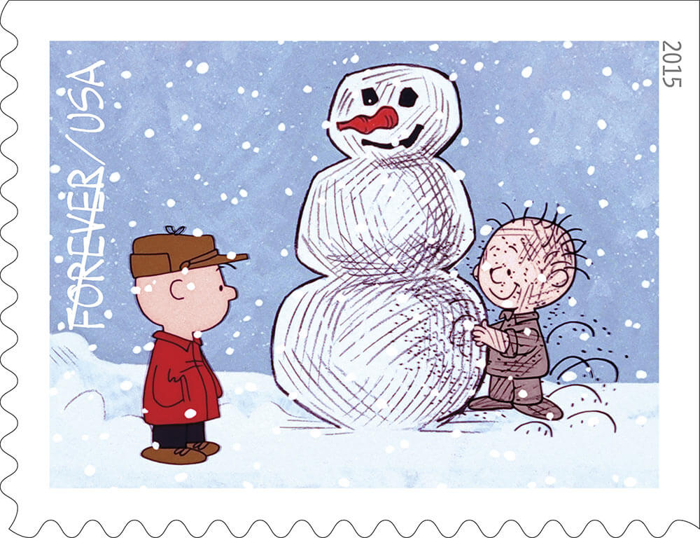 Starting tomorrow get quot a charlie brown christmas quot stamps celebrating