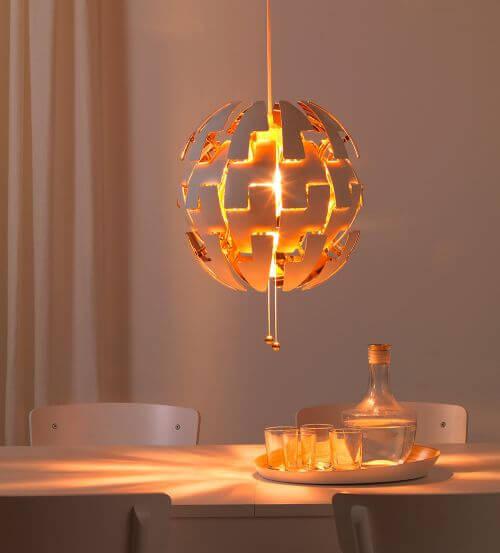 modern pendant light