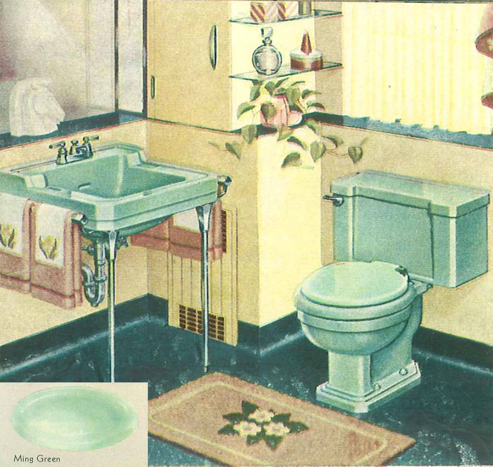 1000+ images about 1950s Bathroom on Pinterest | 1950s ...