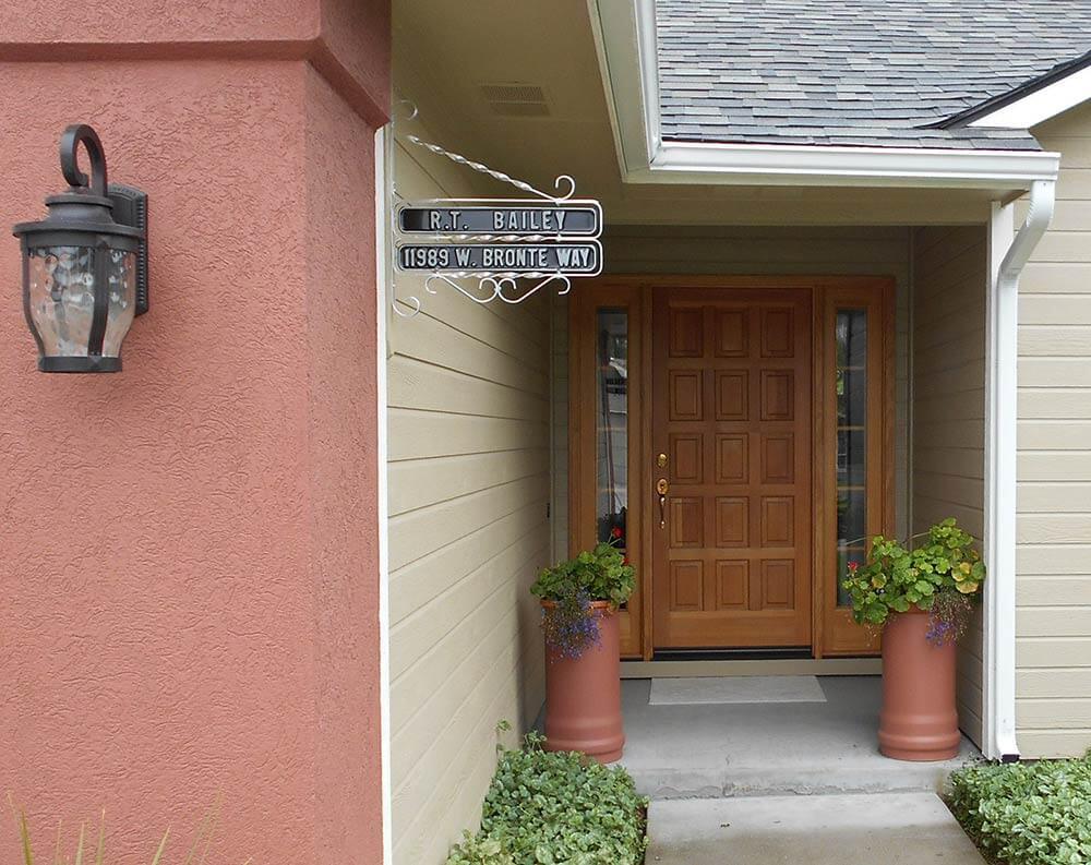 retro address marker