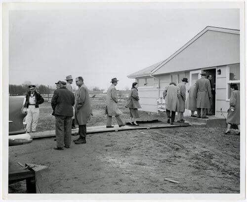 Parade of homes 1957