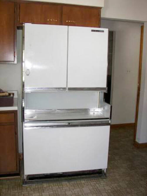 The 1964 Ge Americana Refrigerator Freezer Retro Renovation