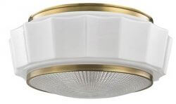retro flush mount light