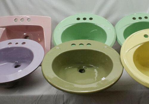 vintage sinks