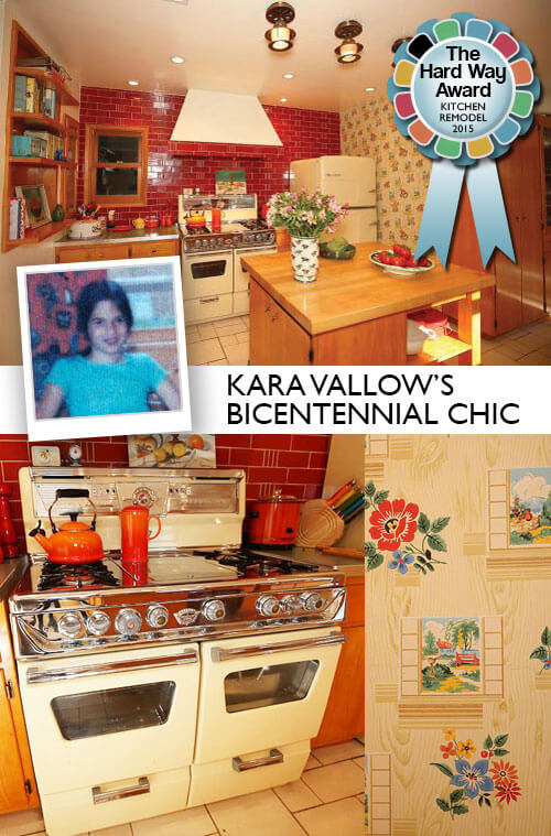 bicentennial chic kitchen