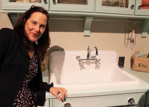 vintage style kitchen sink