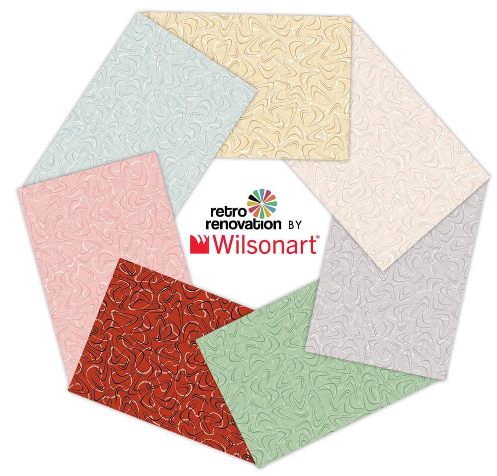 new balance 574 retro colors in wilsonart