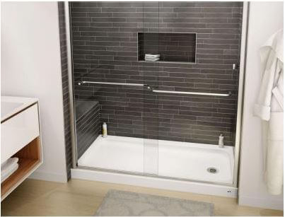 Two Affordable Porcelain On Steel Shower Bases From Bootz