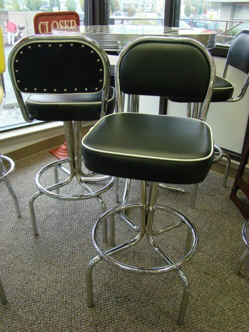 chrome-stools