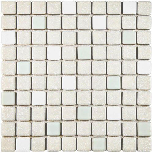 retro mint green floor tile