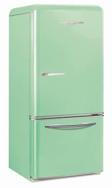 jade green refrigerator