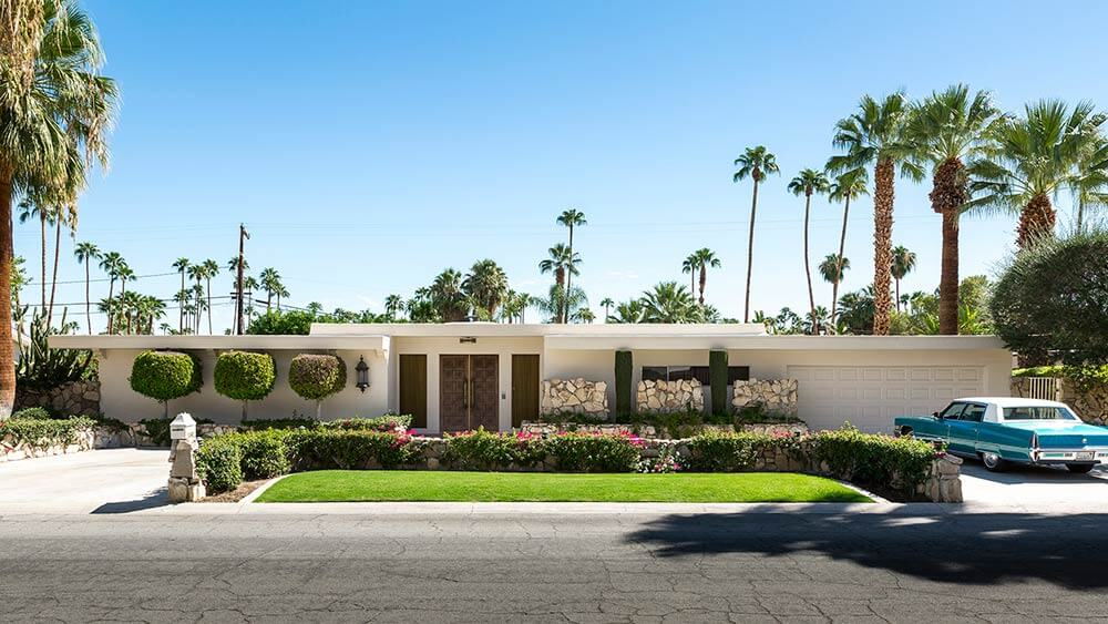 Stephans Folly Palm Springs 1969 on 1960s Ranch Style Home Exteriors